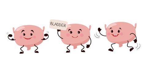 Cartoon character bladder.