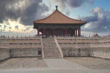 Foto op Aluminium Xian exterior of the Forbidden City in Beijing.
