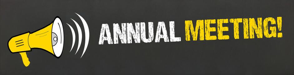Annual Meeting!