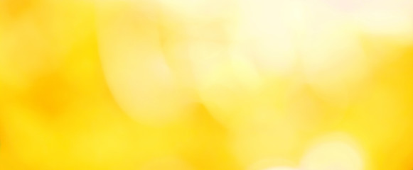 Beautiful Nature blurred yellow summer Background Wall mural