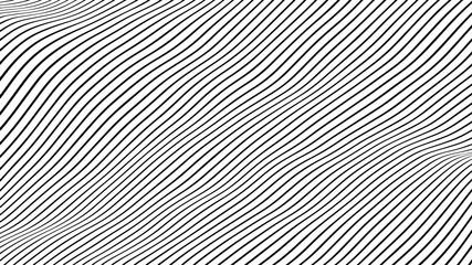 Foto auf Gartenposter Abstrakte Welle Abstract background texture design, modern pattern with lines, vector illustration