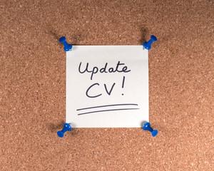 Wall Mural - Update CV!