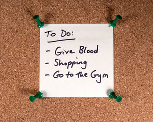 Wall Mural - To Do List