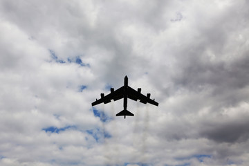 Military bomber B52