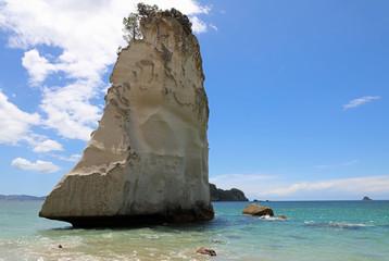 Türaufkleber Cathedral Cove Te Hoho Rock bei der Cathedral Cove. Coromandel Halbinsel. Neuseeland