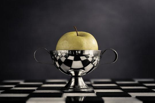 La mela di arlecchino per il giorno della grande festa