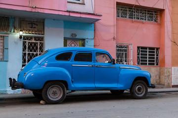 Türaufkleber Autos aus Kuba Cuban hand-brake