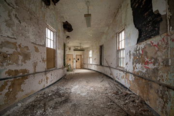 Abandoned State Hospital Insane Asylum