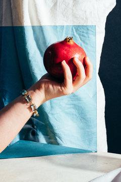 Pomegranate Test © Lauren V. Allen