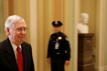 The United States Senate begins the trial of Impeachment against U.S. President Donald Trump on Capitol Hill in Washington