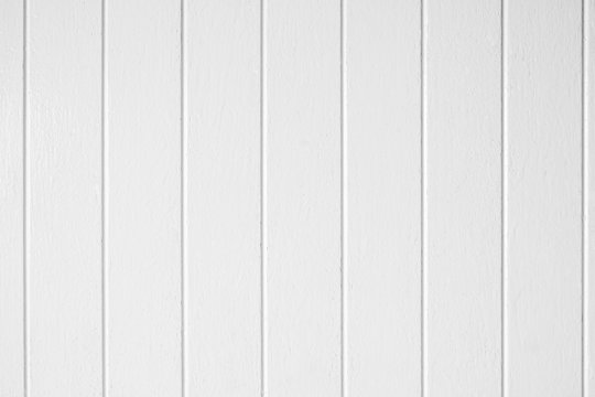 Texture of white wood wall, background