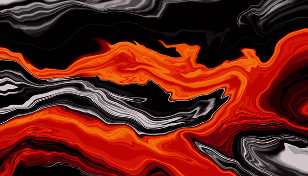 lush lava color Marble texture background vector. Panoramic Marbling texture design for Banner, invitation, wallpaper, headers, website, print ads, packaging design template.