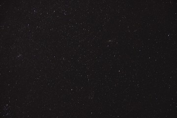Sky covered in stars during the night - a cool picture for backgrounds and wallpapers