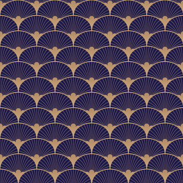 Retro, 20s, gatsby, art deco pattern. Vector art.