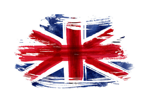 Grunge flag of the United Kingdom