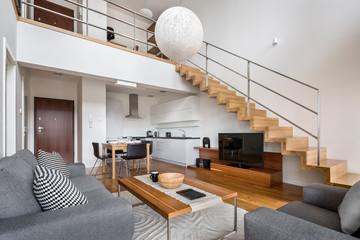 Modern two floor apartment