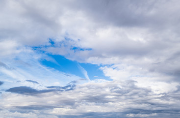 Wall Mural - Sky background with clouds