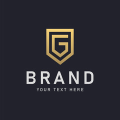 Luxury Letter G Logo Design