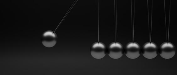 newton's pendulum minimalist image background