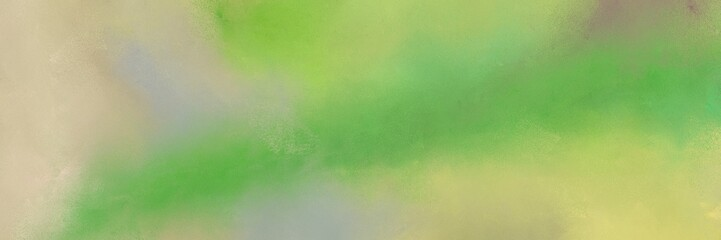 grunge horizontal texture background  with dark khaki, dark sea green and moderate green color