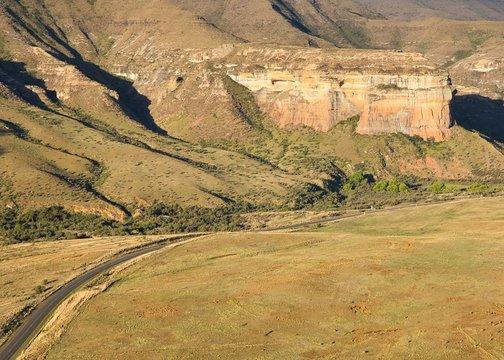 Golden Gate Highlands National Park in South Africa