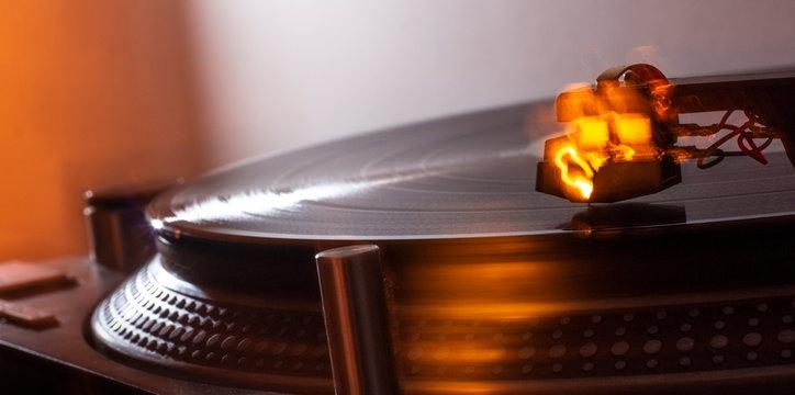 Vinyl lebt! Heiße Scheibe