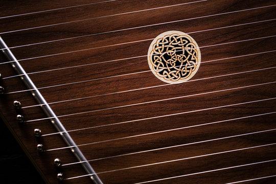 psaltery or Celtic lap harp