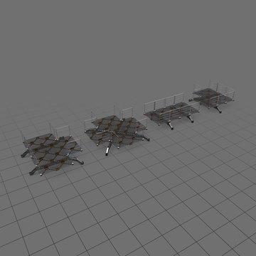 Modular sci fi floor