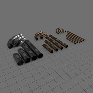 Sci fi pipes