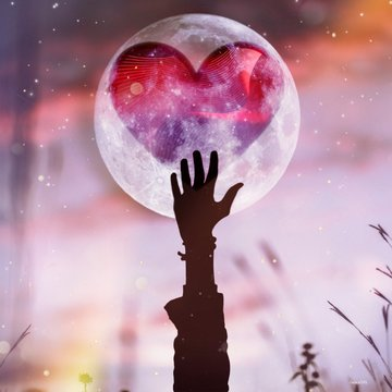 And if your heart was in the moon, you would be trying to reach it