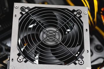 cooler fan of power supply unit