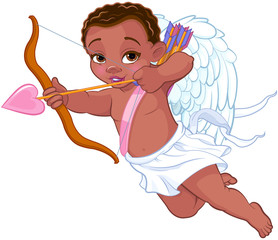 In de dag Sprookjeswereld Cupid Shooting