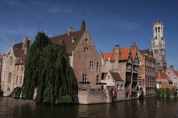 Wall Murals Bridges Bruges Belgium