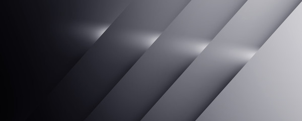 Abstract geometric white and gray color background