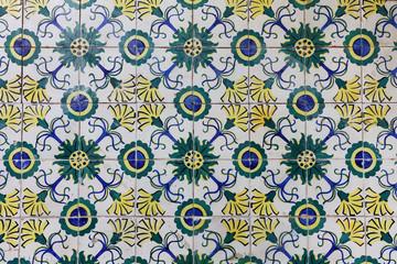 Portuguese tiles pattern - Azulejos
