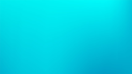 Cyan colored abstract gradient mesh Background.