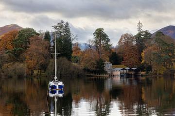 Derwentwater boathouse