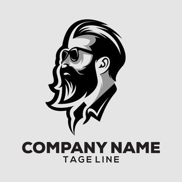male head logo