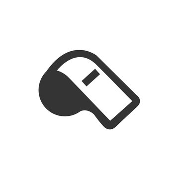 whistle icon vector for website and graphic design