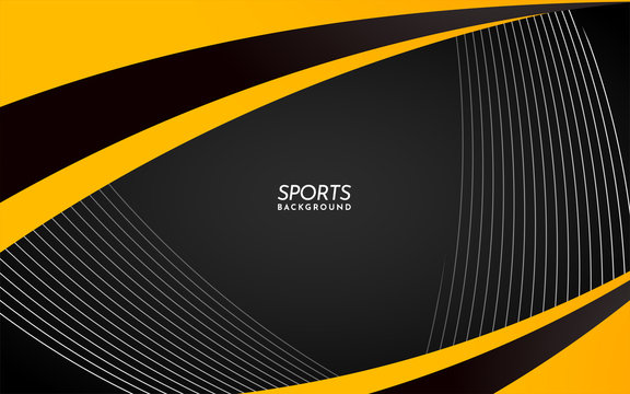 Modern Sports Background with Lines and Shape. Abstract Background
