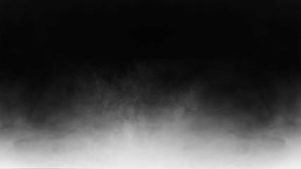 gray somoke photo overlay, fog photo overlay Fototapete