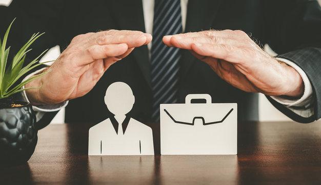 Concept of job loss insurance