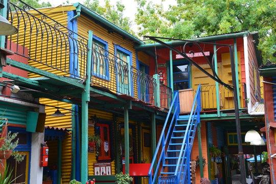 Quartier Coloré La Boca Buenos Aires Argentine