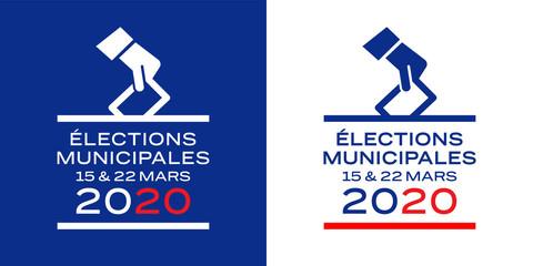 Elections municipales / bannière