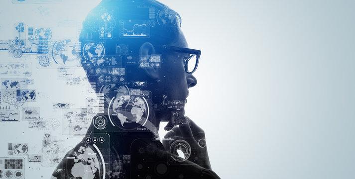 ai, analysis, artificial intelligence, automation, big data, brain, business, cg, cloud computing, communication, computer graphics, concept, creative, cyber, deep learning, digital transformation, ed