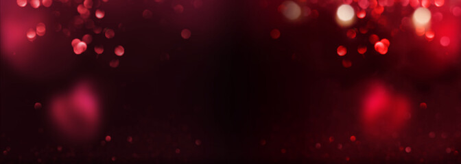 Abstract black red background