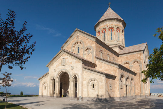 The Bodbe Monastery in Sighnaghi. Georgia
