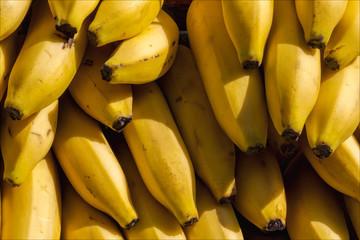 Full Frame Shot Of Bananas In Market