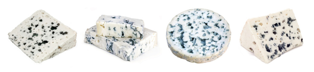French and Italian blue-veined cheeses Fotomurales