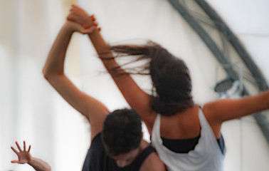 dancer hand, contact improvisation